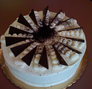 Jamaican Chocolate Coconut Cake