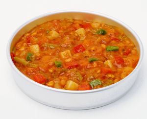 Jamaican Peas and Vegetable Curry