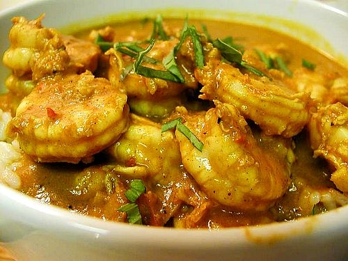 Jamaican Curry Shrimp